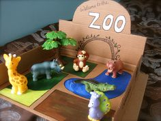 Safari Animal Crafts, Zoo Crafts, Preschool Activities, Preschool Zoo Theme, Kids Crafts, Zoo Toys, Zoo Project, Kids Zoo, Animal Activities