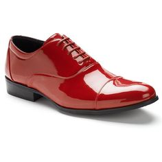 Stacy Adams Gala Men's Oxford Dress Shoes, Size: medium (7.5), Red