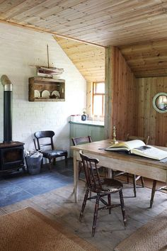 Escape to this secluded Scottish fishing lodge on HOUSE - design, food and travel by House & Garden.