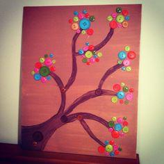 Button art by Jennifer