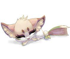 Chibi for Belliko art by mydlas.deviantart.com on @DeviantArt