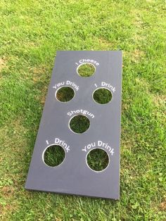 Items similar to Cornhole Party Board (You Drink / I Drink / Choice) on Etsy Diy Party Games, Diy Games, Party Ideas, Gift Ideas, Custom Cornhole Boards, Cornhole Set, Drinking Board Games, Outdoor Drinking Games, Bean Bag Games