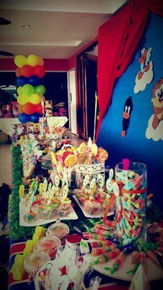 Mesa de dulces #LooneyTunes