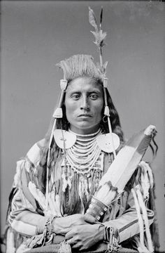 """maudelynn: """" Medicine Crow, by Charles Milton Bell c.1880 """"Medicine Crow was a warrior from the time he first went on the warpath at the age of fifteen until his last battle in 1877. He attained..."""