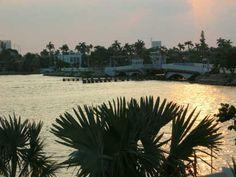 Miami Beach's Venetian Islands are beautiful!