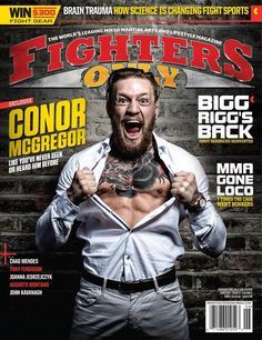 Conor McGregor on Fighters Only Magazine cover : if you love #MMA, you'll love the #UFC & #MixedMartialArts inspired fashion at CageCult: http://cagecult.com/mma