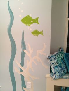 Under the Sea Nursery Idea!