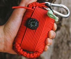 Increase your chances of staying alive in the wild by making sure you've got the survival grenade. Designed by a Marine Scout Sniper, it contains all the essentials you'll need to survive such as a wire-saw, snare, fire starter, compass, and many other tools.