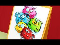 Create a Child-Friendly Birthday Card ft Chubby Chums