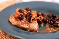 Pork_Medallions_with_Cherry_Sauce