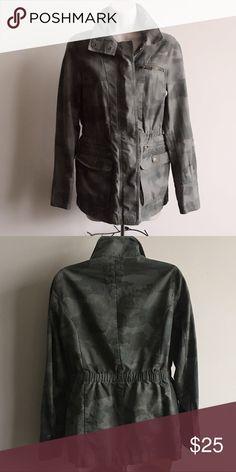 Camo Jacket Gap Camo Jacket in very good condition GAP Jackets & Coats