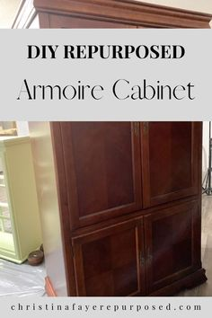 Diy Furniture Appliques, Wood Appliques, Cabinet Makeover, Cabinet Decor, Television Cabinet, Dumpster Diving, Paint Drying, Thinking Outside The Box