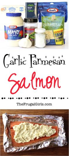 Grilled Garlic Salmon Recipe! ~ from TheFrugalGirls.com ~ add this delicious Parmesan Garlic seafood dish to your dinner menu this week. SO easy and packed with flavor! #recipes #thefrugalgirls