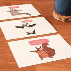 "[HAPPY NEW YEAR] On commence l'année tout en douceur ! Belle année à vous @instagram 💌🎉📮 👉🏻 Collection ""Viens dans mes bras"" à retrouver sur notre e-shop (📎lien en bio) 🐼  #raccoon #panda #ratonlaveur #ecureuil #squirrel #postcards #paperlover #viensdansmesbras #pramax #snailmail #newyear #2017 #illustration #lyon #igerslyon #graphicdesign #hugs #love #hygge #coffee #livefolk #chill #madeinfrance #instagood #picoftheday"