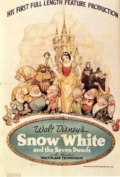Blanche Neige et les 7 nains (Disney) / Snow White and the Seven Dwarfs (1937) primer película de Walt Disney