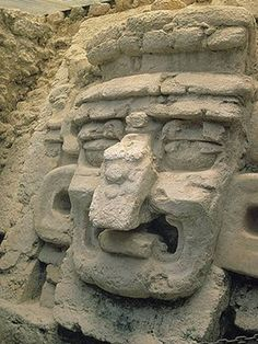 """Itzamna"" Maya. The creator Itzamna, lord of the heavens and creator of night and day, is one of the most important Maya deities."