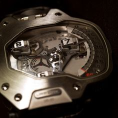 Moving gears torpedo watch ~ I mean I know we don't need them anymore, but wow, it's stunning
