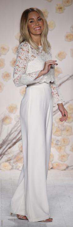 Lauren Conrad at her 2016 summer show wearing LC by Lauren Conrad