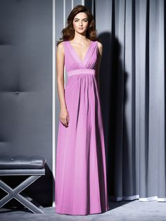 v neck prom dress