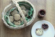 Trzyskładnikowe bułeczki z rodzynkami. BLW | Różanecznik / mąka ziemniaki jajo/banan