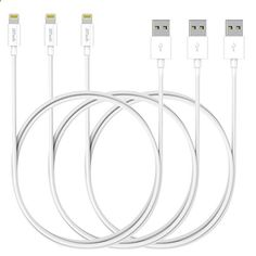 MP3 players for sports Lightning Cable, JETech 3 Paquetes 1 metro APPLE MFi Certificado Cable de Carga y Sincronización con USB Compatible para iPhone SE/6s/6s Plus/6/5, iPad 4, iPad Air, iPad mini (Blanco)   Your #1 Source for Sporting Goods & Outdoor Equipment - One of the best MP3 players in the market. It is submersible up to two meters, is available in five colors.