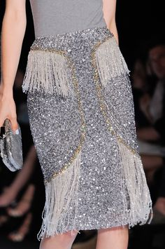 Badgley Mischka at New York Fashion Week Spring 2014