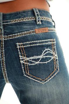 NEW Cowgirl Tuff DYDFMI Don't You Dare Fence Me In Jean: Sierra Western Wear