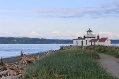 in Seattle's Discovery Park --hike to this beach and smell the salt air.  #seattlewashington #glutenfree  #seattletravel  #discoveryparkseattle  #kayak  #seattlerestaurants