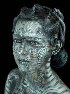 Großartige Body-Art von Michael Rosner - KlonBlog » KlonBlog