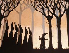 Petit Poucet - Paper Cut Art