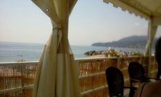 Cogoleto beach Italy