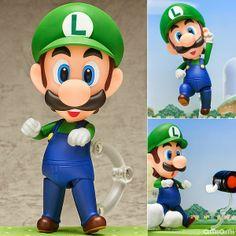 O Nendoroid de Luigi é a nova sensação do momento