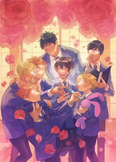 Ouran high school host club ❤ on We Heart It Colégio Ouran Host Club, Ouran Highschool Host Club, Host Club Anime, High School Host Club, Fanarts Anime, Anime Manga, Anime Characters, Anime Art, School Clubs