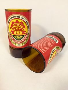 A personal favorite from my Etsy shop https://www.etsy.com/listing/262019022/red-hook-beer-bottle-tumbler-drinking