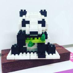 #nanoblock#Giantpanda#panda#취미#올만의업뎃#nbc-159#일본#170pcs