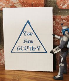 """The Valentine's Day card for your """"acutey pie."""""""