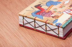 Handmade Coptic bound mini notebook by SiuyuettBindery on Etsy