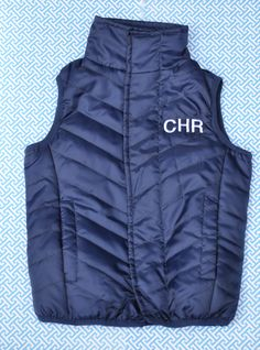 Boys 2T- 6/7 Monogram magnetic vest #classic #kids #outerwear #monogram @magnamini