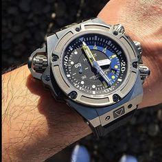 The Beast Diver @patman45 #hublotistaclub #watch #watchfam #watchporn…