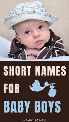 Having a baby boy? Congratulations! Here is a list of over 400 short boy names. I've created two categories, one-syllable and two-syllable names. #babynamesboy #babyboynames Two Syllable Boy Names, Short Boy Names, Having A Baby Boy, Pregnancy Guide, Mom Advice, First Time Moms, Everything Baby, Baby Feeding, New Moms