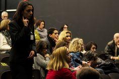 """Il pubblico dell'incontro dal titolo """"Nuovi adolescenti o nuove dipendenze?""""   Piccolo Eliseo, 26 Ottobre 2015"""