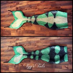 Newest mermaid tail from Tigg's Tails, neoprene silicone hybrid.