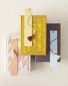 Handmade Gifts for Book Lovers | Martha Stewart Living — Thinking of giving a bibliophile friend a coveted new book this Christmas? Click here to see how you can make your present even more special.