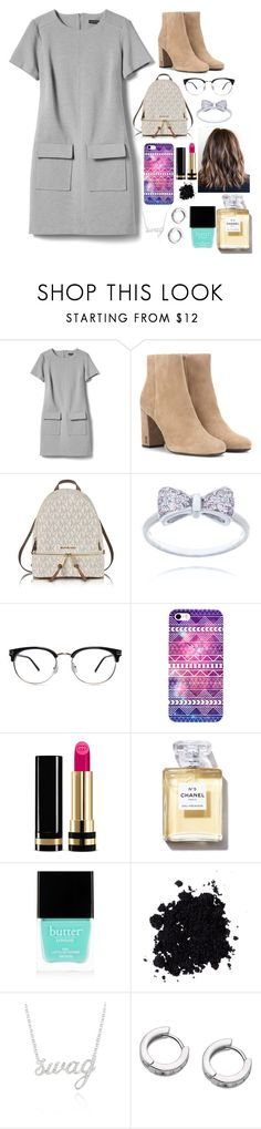 """#superchic"" by victoriapaz2009 on Polyvore featuring moda, Banana Republic, Yves Saint Laurent, Michael Kors, Gucci, Butter London y Belk & Co."
