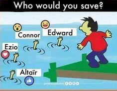 Altair, é o único que não sabe nadar...