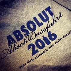Kostenloser Katalog bestellen: www.shirts-n-druck.de #absolutfertig #absolutabschlussfahrt #abschluss2016 #abschlussfahrt #abschlussmotto #ak2016 #ak16 #abschlussshirt #abschlusspulli #shirtsndruck