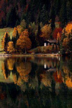 Autumn at the lake ~ razvan macavei