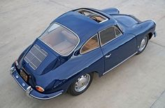 Porsche 356 C Sunroof Coupe - 1964 1964 Porsche, Porsche Cars, Classic Trucks, Classic Cars, Porsche 356 Speedster, Vintage Porsche, Car Restoration, Bentley Continental, Car Pictures
