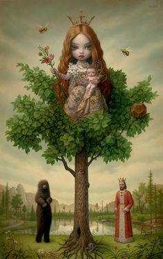 mark ryden tree of life   MICHAEL KOHN GALLERY - MARK RYDEN
