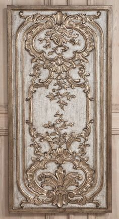 Rococo Wall Panel A | Wall Panels | Inessa Stewarts Antiques